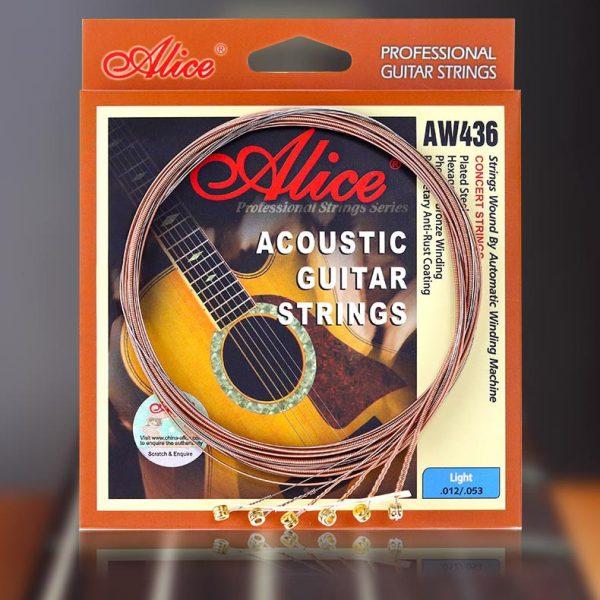 Dây Guitar Acoustic Alice 436