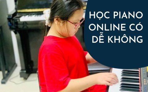 Tự học piano online tại nhà có được không?