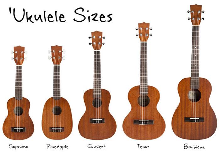 các loại ukulele