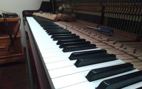 Phím đàn piano bị dính mất độ nảy – Cách xử lí