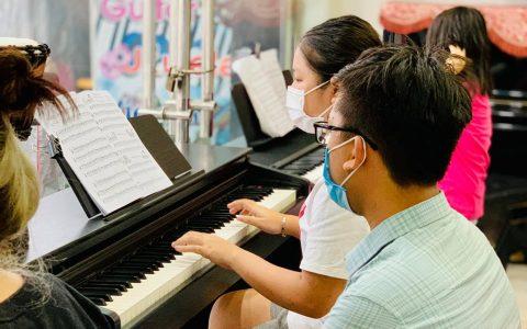 Nơi dạy piano dịp nghỉ hè cho các bé tại Biên Hòa