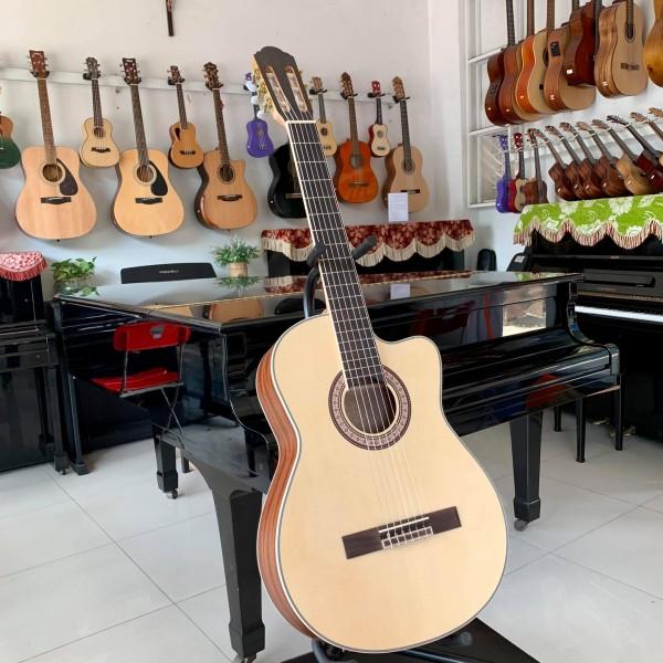 Guitar Classic Hồng Đào Nhám