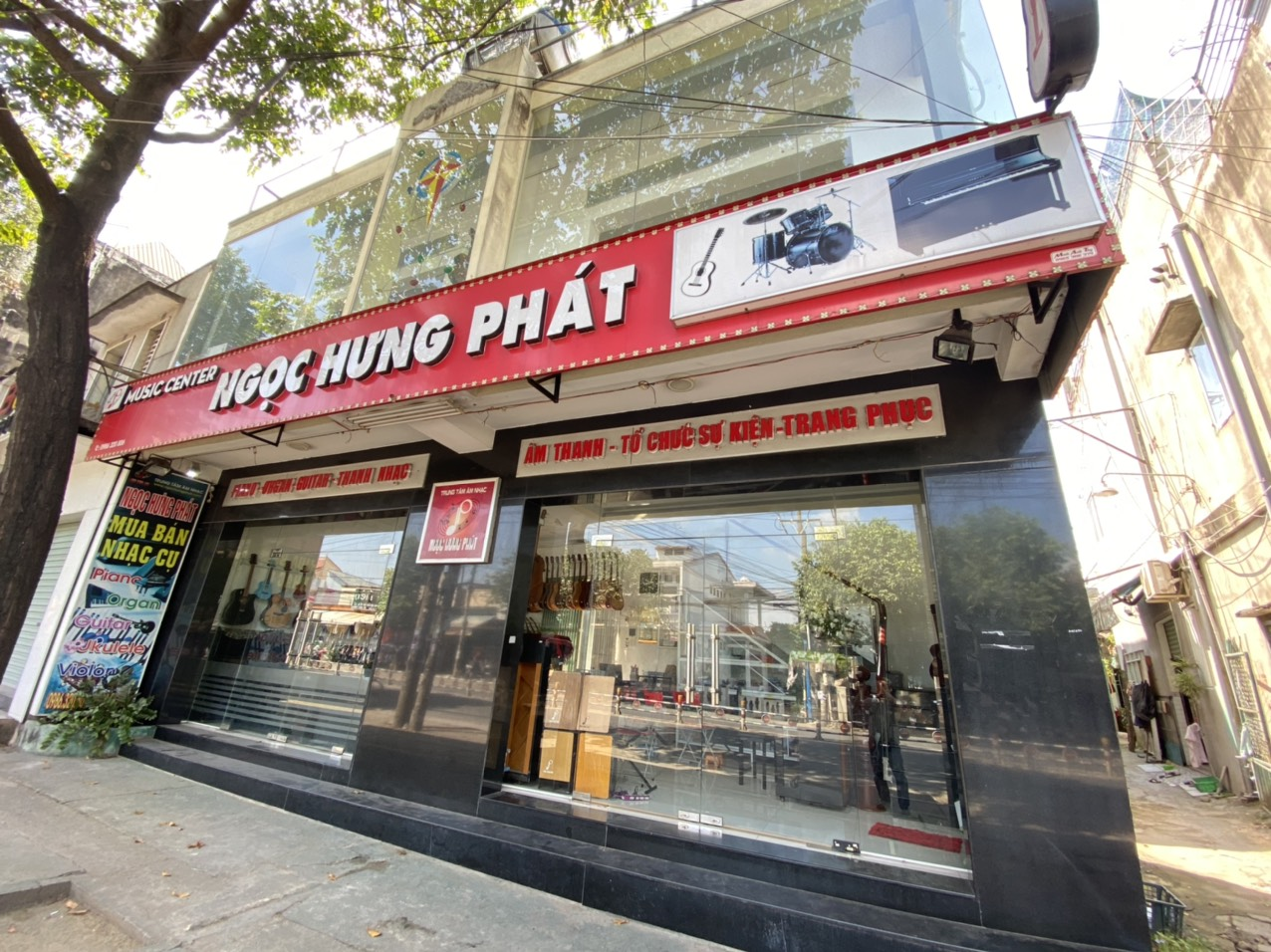 cửa hàng nhạc cụ Biên Hoà - Đồng Nai